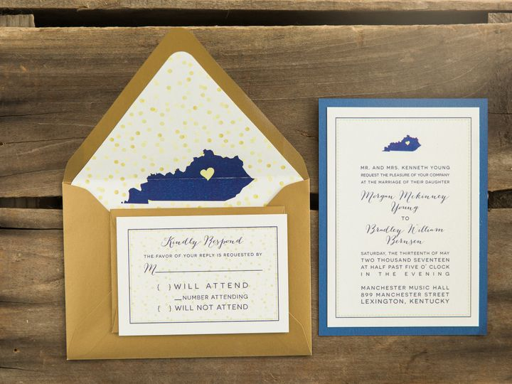 Tmx 1496872064438 Simplydone 0070 Lexington, KY wedding invitation