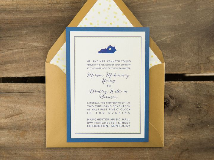 Tmx 1496872108048 Simplydone 0072 Lexington, KY wedding invitation