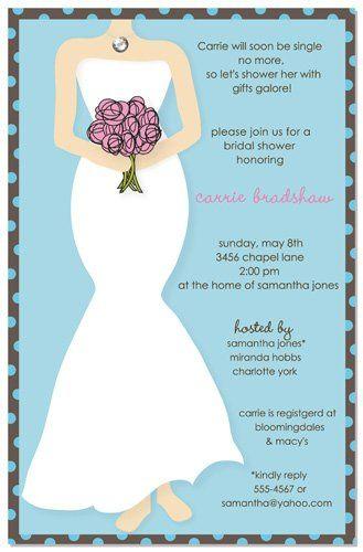 Cartoon wedding invite