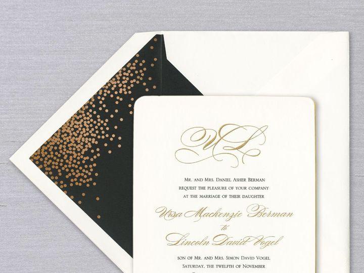Tmx Verawang 51 169372 Tampa, Florida wedding invitation