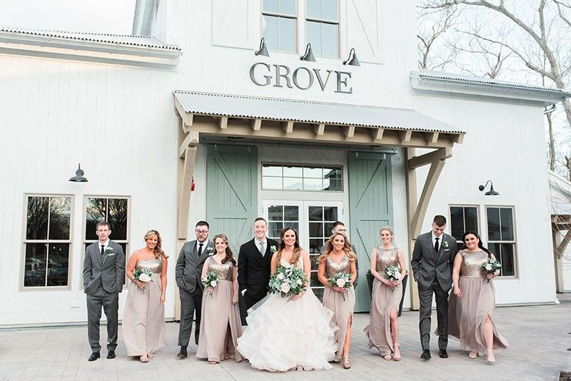marcella plosker photography grove bridal party front of barn outside 51 1000472 1556216853