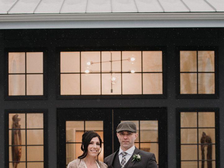 Tmx Ria Mackenzie Photography Inn Silo Entrance Bride And Groom Snow Winter 51 1000472 Rowley, MA wedding venue