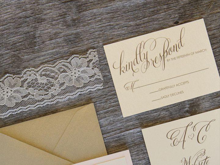 Tmx 1399044969604 Thebeeskneesstationary 000 Dallas, Texas wedding invitation