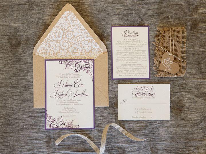 Tmx 1399045045257 Thebeeskneesstationary 002 Dallas, Texas wedding invitation