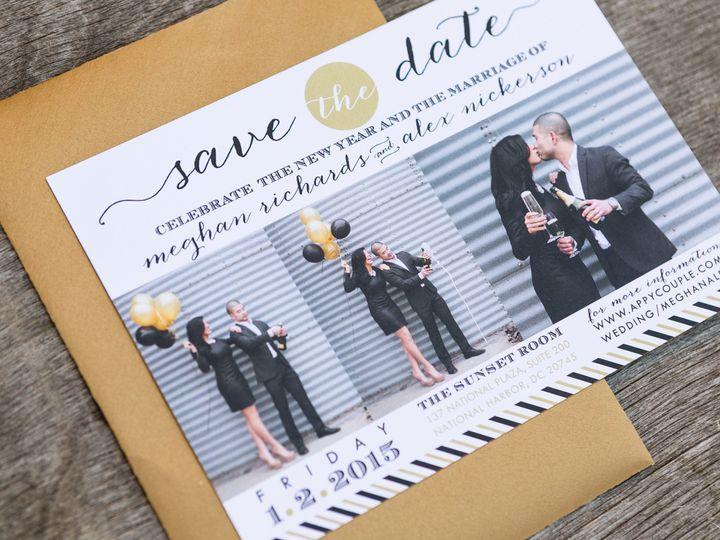 Tmx 1414098059306 Thebeeskneesstationary 0077 Dallas, Texas wedding invitation