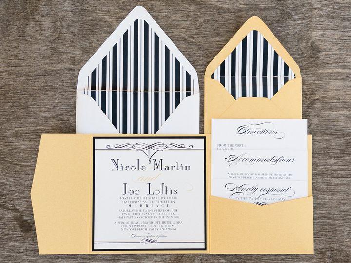 Tmx 1414098167575 Thebeeskneesstationary 0083 Dallas, Texas wedding invitation