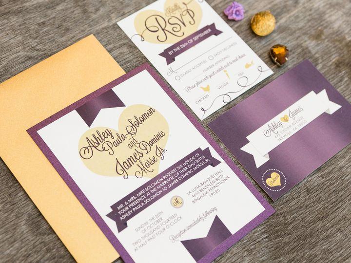 Tmx 1414098439759 Thebeeskneesstationary 0096 Dallas, Texas wedding invitation