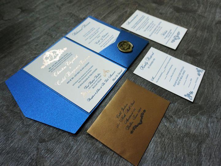 Tmx 1470777836010 Dsc00759 Dallas, Texas wedding invitation