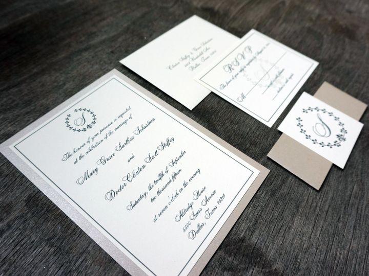 Tmx 1470778001184 Dsc00788 Dallas, Texas wedding invitation