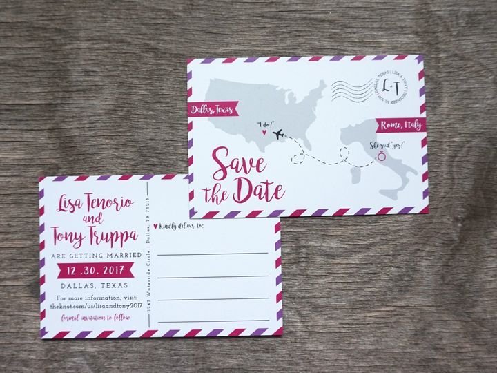 Tmx 1496693794786 Dsc01371 Dallas, Texas wedding invitation