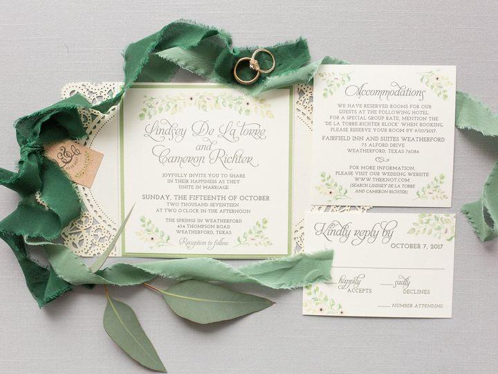 Tmx 1531329433 4ae2d53945b67e36 1531329431 99bb38b8fb9f65d4 1531329431174 7 5Z1A7042 Dallas, Texas wedding invitation