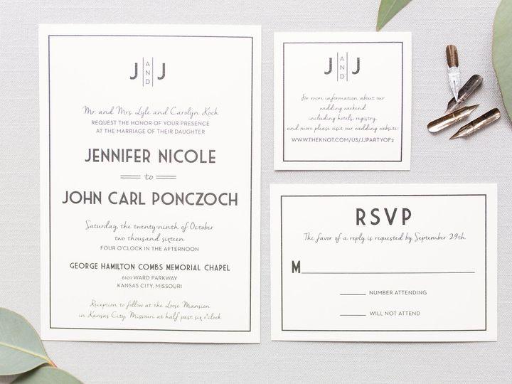 Tmx 1531329495 5cff04fedf91f0a5 1531329493 6f63d665d4a7e35c 1531329493261 10 5Z1A7090 Dallas, Texas wedding invitation