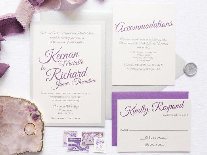 Tmx 1531329537 05fca1318ef89748 1531329535 De95b2807c584b96 1531329534812 13 5Z1A7189 Dallas, Texas wedding invitation