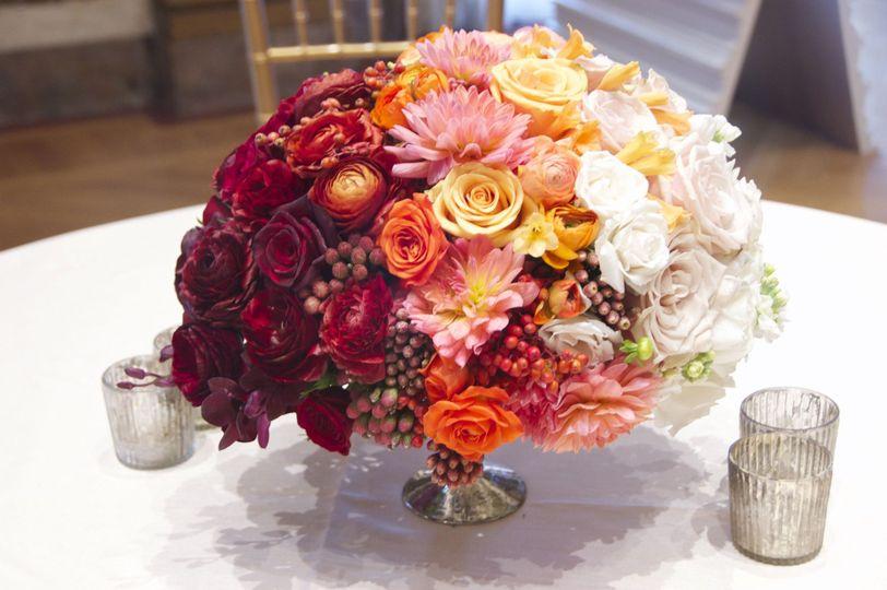 Michael George Flowers Wedding Flowers New York New York