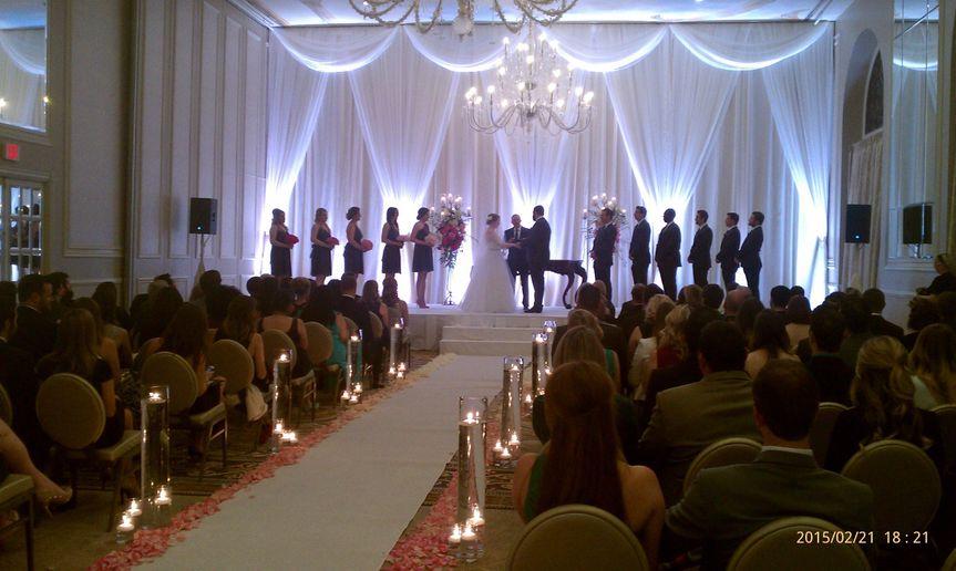 Adolphus wedding