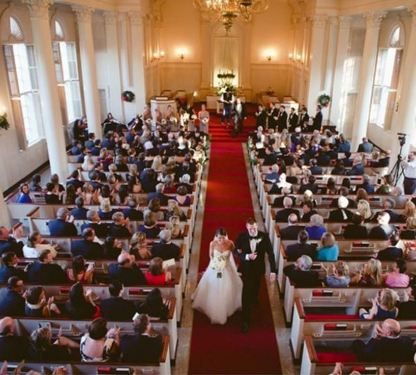 Wedding at Robert Carr Chapel