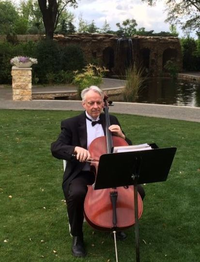 Our cellist at Arboretum