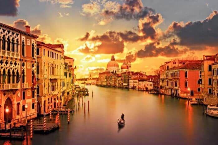 Venice is beautiful