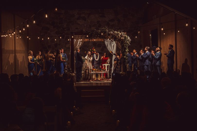 Chapel Theater ceremony