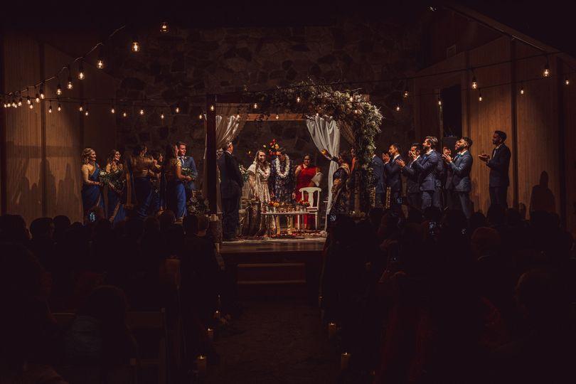 Chapel Theater ceremony