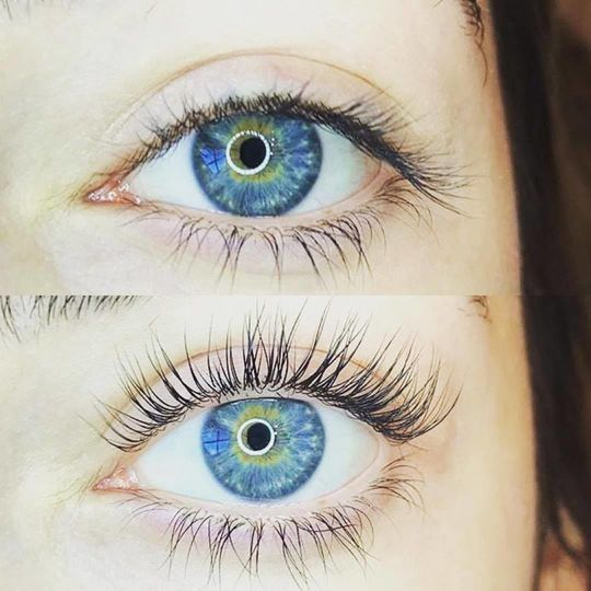 Lash Lift a great alternative to extensions, If the up keep is too difficult.