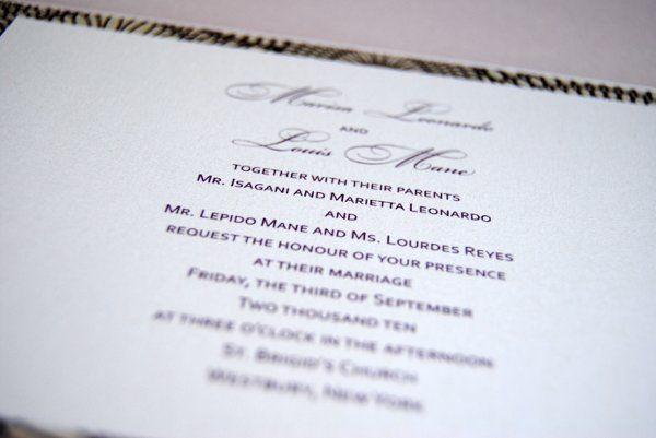 Tmx 1280184727183 DSC0053e Wappingers Falls wedding invitation