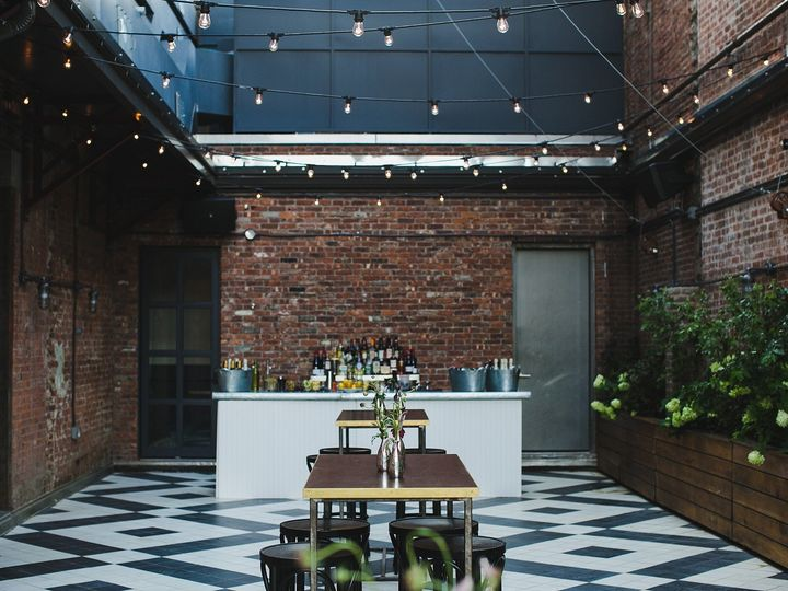 Tmx 1489783767429 Wythe Hote Outdoor Garden Bar 01   Copy Brooklyn, NY wedding venue