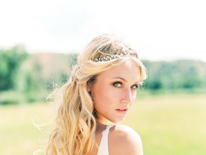 Tmx 1458145558340 Brush Creek Ranch Boho Wedding Look Claire Pettibo Denver, Colorado wedding dress