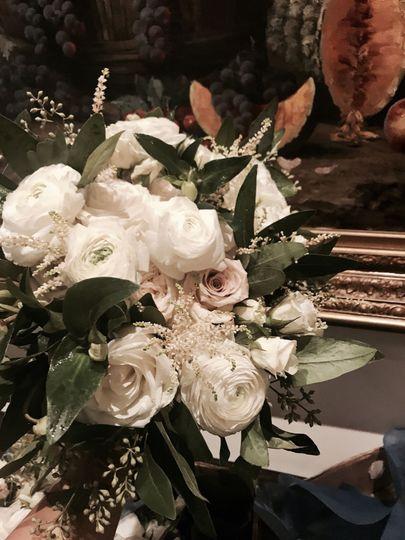 Bride bouquet- off white, rustic, elegant.