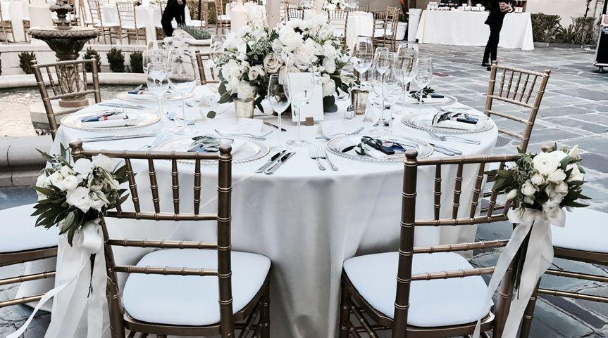 Bride & groom's seating