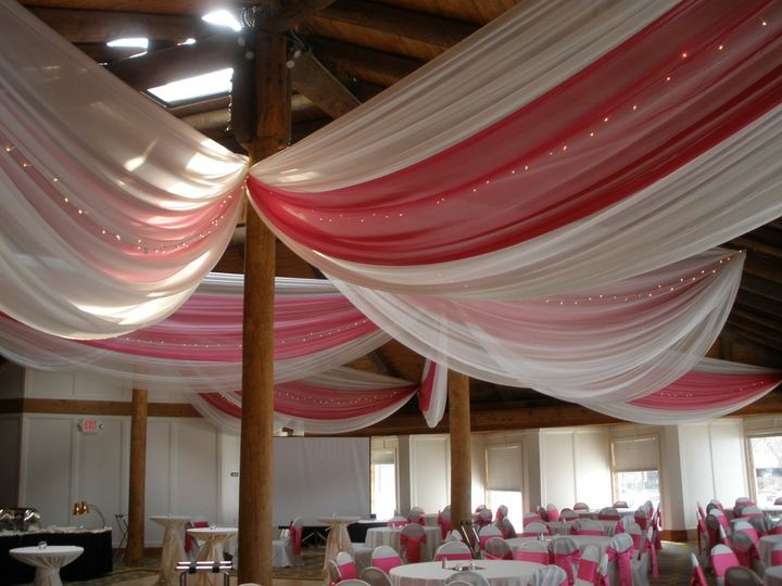 Tmx 1340246766431 Bayviewivoryandpinkdraping2 Minneapolis, Minnesota wedding rental