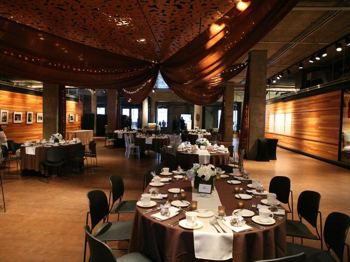 Tmx 1340246781598 ChocolateBrownDraping Minneapolis, Minnesota wedding rental
