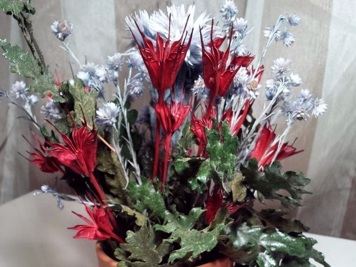 Tmx 1482435440957 Redsilverflower Newark wedding florist