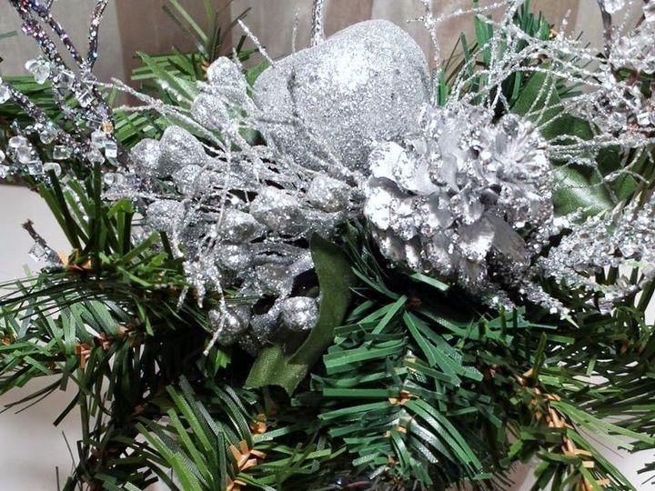 Tmx 1482435453134 Silvergreen Newark wedding florist