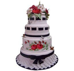 Tmx 1286686036394 Butterfliess La Jolla wedding cake