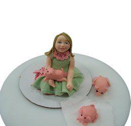Tmx 1286686038987 Girls La Jolla wedding cake