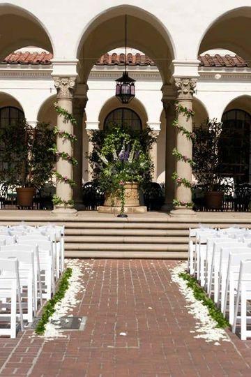 Atheneum, Pasadena, CA Wedding Ceremony