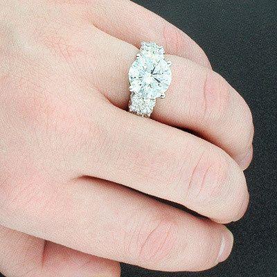 platinum engagement rings expensive diamond ring 8