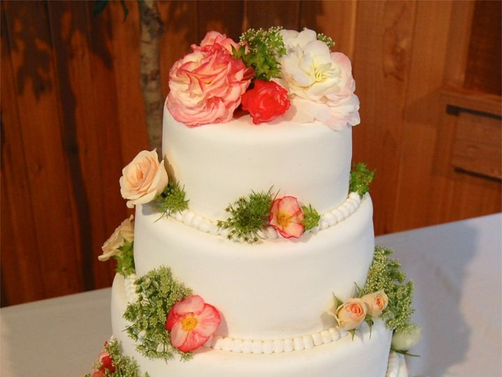 Tmx 1391053106752 Weddingcake Blairstown wedding florist