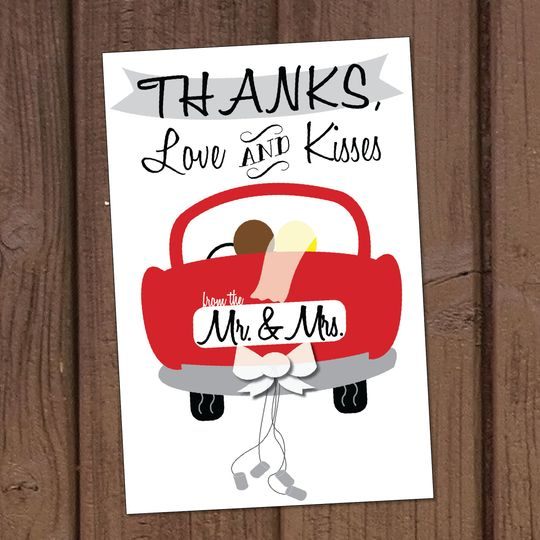 A cute and simple Thank-You card.
