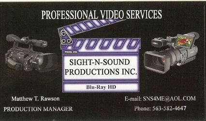 SIGHT-N-SOUND PRODUCTIONS, INC.