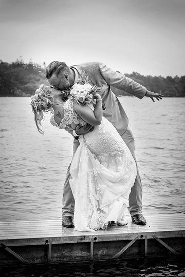 A post wedding dip