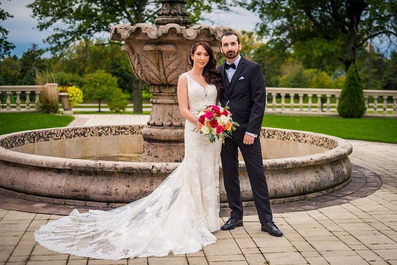 Post-wedding formal shot