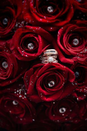 Gorgeous ring shot