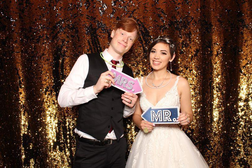 Wedding Couple Photo Booth