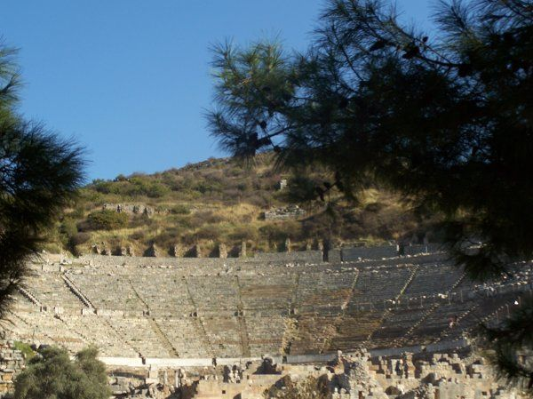 Greece - amphitheatre for 7,000 guests.