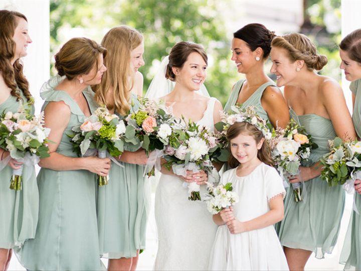 Tmx 1421293817220 Green Bridesmaids Dresses Orangerie Events Nc Wedd Cary, NC wedding florist