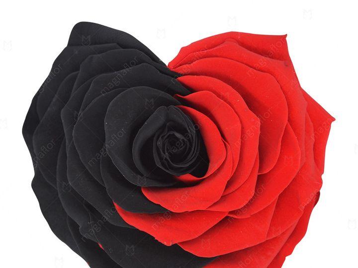Tmx Bicolor Shape Of Love 51 932572 Fort Lauderdale, FL wedding florist