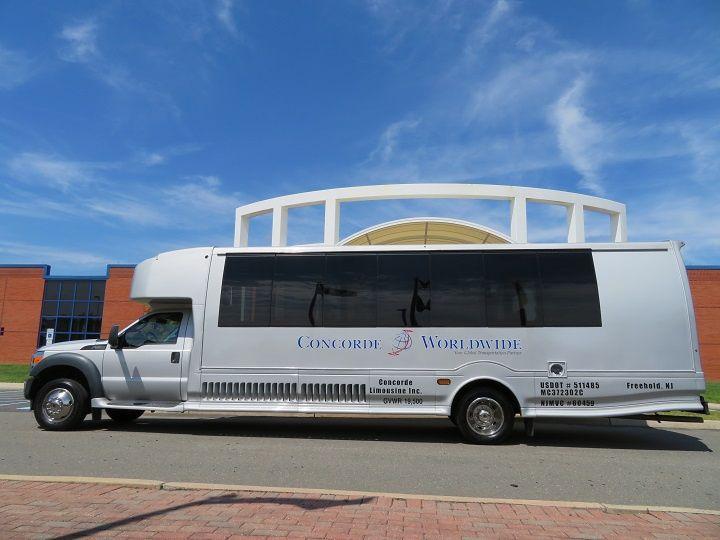 Tmx 27 Passenger Exterior 720x540 51 106572 160488374294537 Freehold, NJ wedding transportation