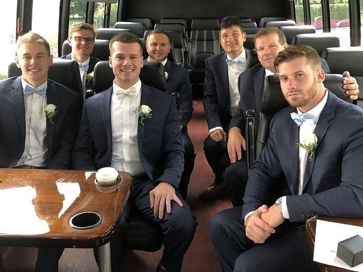 Tmx 27 Passenger Interior Groomsmen 51 106572 160488373634650 Freehold, NJ wedding transportation